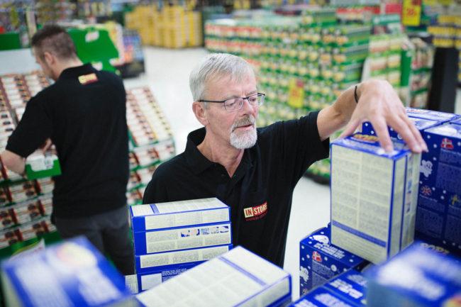 Medarbejdere i Merchandising, IN-STORE