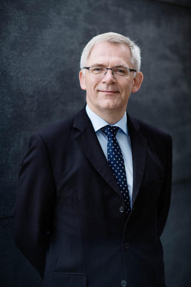 portræt aarhus universitet rektor Brian Bech Nielsen