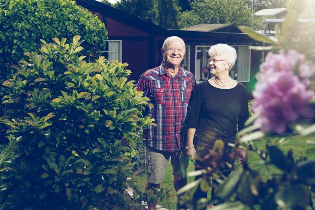 portræt fotografi magasin par