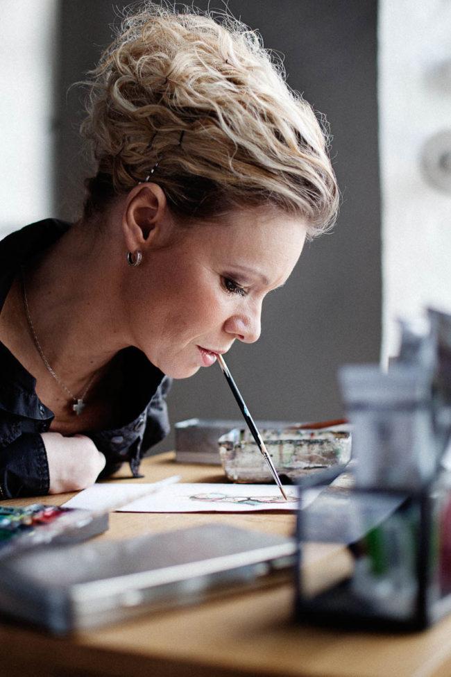 portræt kunstner Ann Wahlberg