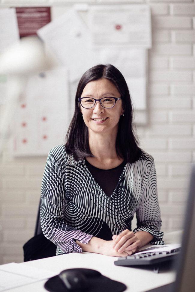 portræt skoleleder Karen Henriette Jessen Sødalskolen aarhus