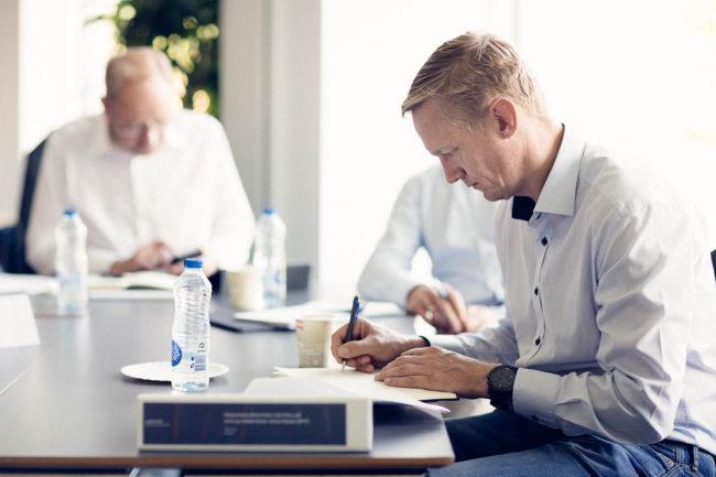 Deltagere i kursus på Aarhus BSS