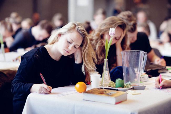 Deltagere på kursus