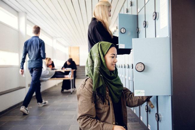 Liv og stemning på gymnasie