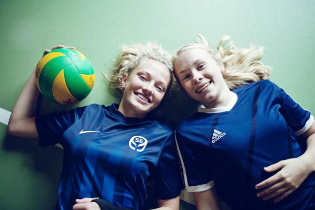 Valgfag, volleyball på efterskolen