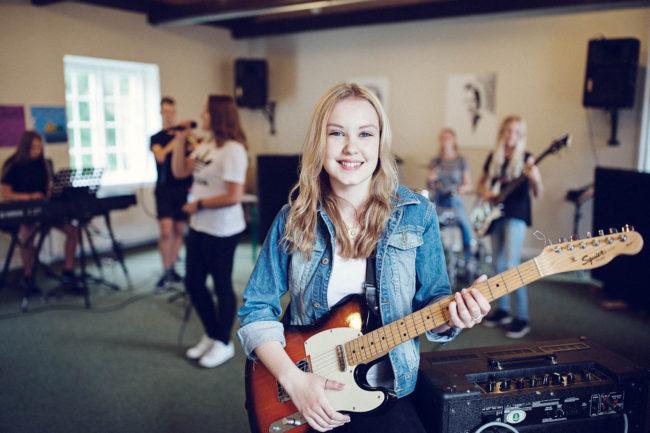 Fotoreportage, elever og liv på efterskole