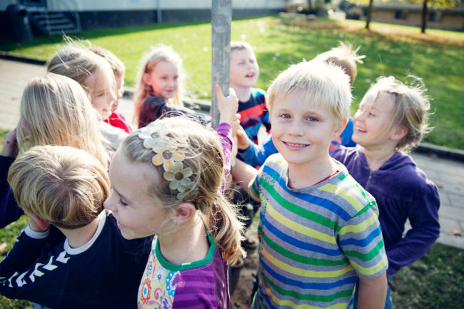 Reportagefotografi på folkeskole i Aarhus