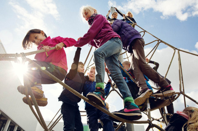 Fotografering af reportage, elever og liv i folkeskole i Aarhus