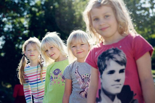 Reportagefotografering af elever og liv i folkeskole i Aarhus