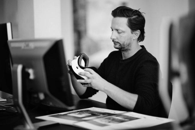 Arkitekt benytter Virtual Reality, Friis og Moltke