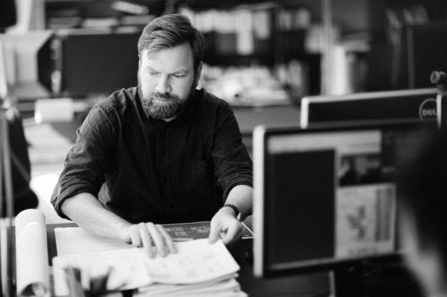 Arkitekt arbejder, Friis og Moltke