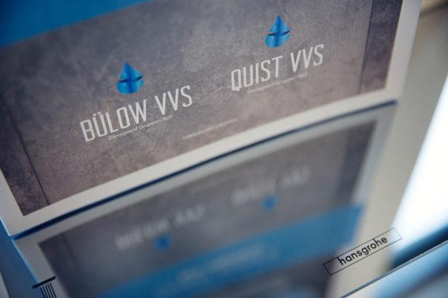 Closeup, spejling, Bülow og Quist VVS