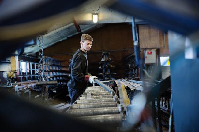 Erhvervsfotograf, stemningsfoto af medarbejdere for Rahbek