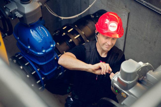 Erhvervsfoto, stemningsbilleder for AURA Energi Aarhus