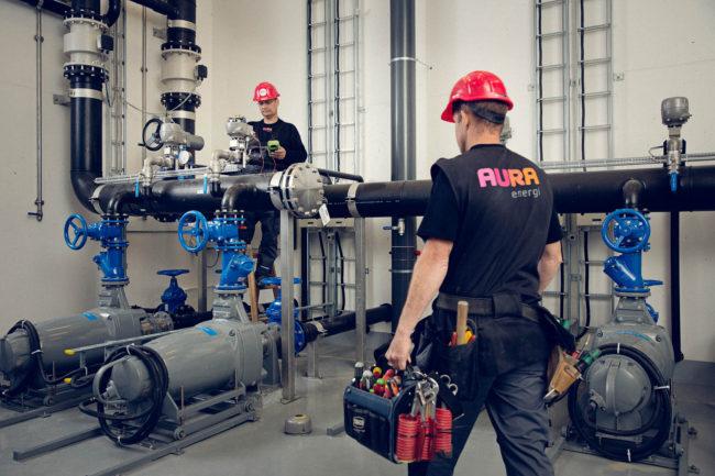 Serviceteknikere, AURA Energi, Aarhus