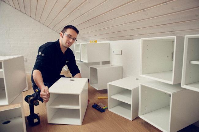 Tekniker, installation, HiFi Klubben
