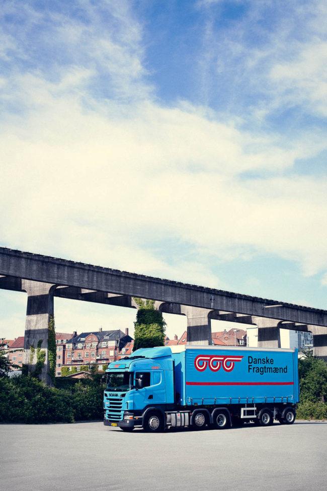 Imagebillede af lastbil, Danske Fragtmænd
