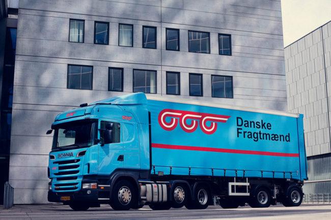 Hero-skud af Lastbil, Danske Fragtmænd