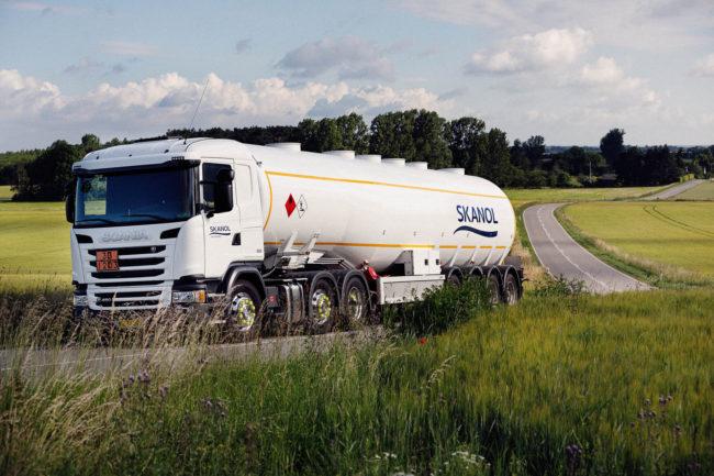 Imagebillede af Tankbil, SKANOL
