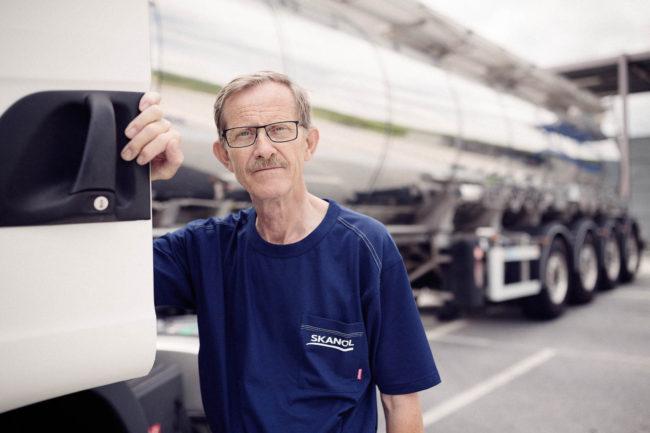 Lastbilchauffør, SKANOL